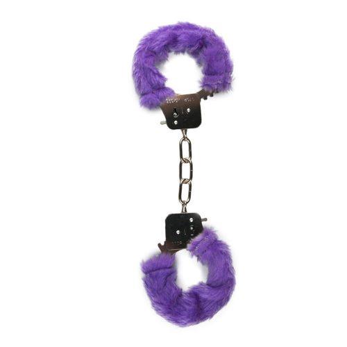 Beginners-Handcuffs-Furry-Purple